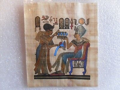 Egyptian Papyrus Handmade King TUTankhamun 16 x 10 cm Junk Drawer