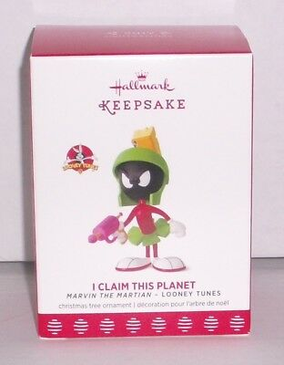"Hallmark Keepsake Marvin the Martian ""I Claim This Planet"" Ornament Limited Ed."