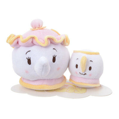 Disney Ufufy Mrs Potty and Chip plush set from Disney Store Japan