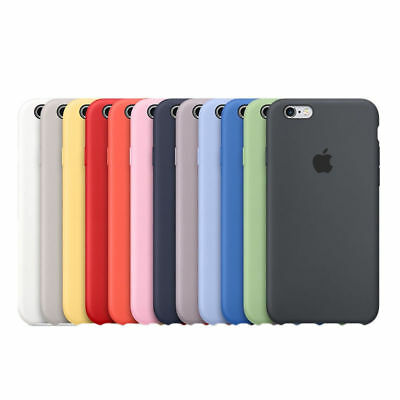 Original Silicone Case For Apple IPhone 8 Plus Xs 7 6 XR XSMAX Genuine OEM Cover