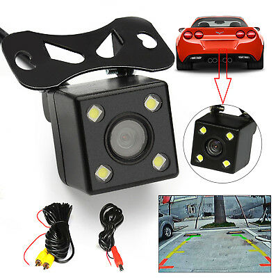 Universal Wired Car Rear View Reversing Parking Bakcup Camera HD Night Vision