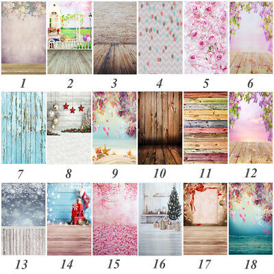 18 Types Toile de Fond Backdrop Photographie Photo Studio Murale Décor 0.9x1.5m