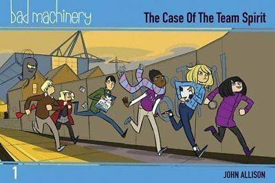 Bad Machinery Volume 1 - Pocket Edition by John Allison New Paperback Book