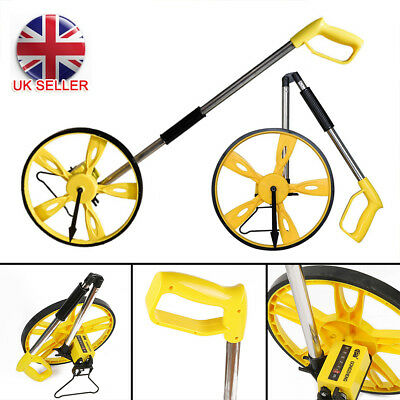 Foldable Distance Measuring Wheel with Stand in Bag Surveyors Builders Road Land