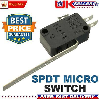 Microswitch Long Lever 16A V3 SPDT Actuators Micro Switch UK