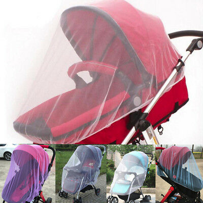 Baby Stroller Mosquito Net Bar Full Insect Cover Carriage Foldable Kids Netting