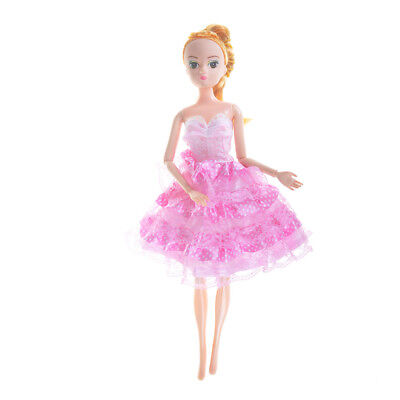 Pretty Handmade Doll Dress For Barbie Doll Party Gown Clothing Gift FT