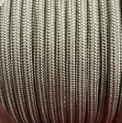 10mm GREY Strong Braided Polypropylene Plaited Poly Rope Cord Yacht Sailing