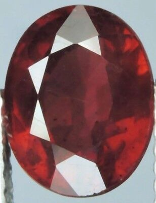 3.05 Carat Genuine Natural Blood Red Ruby