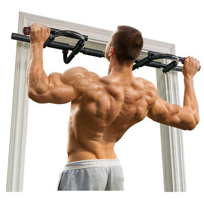 "Gym Body Workout Doorway Sport Pull Up Bar Chin Fitness Training 24""-36"" OT005"