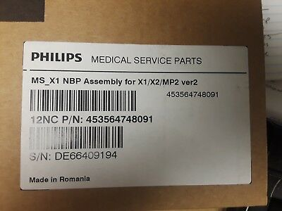 Philips PN: 453564748091 - NIBP pump/valve assembly.....Brand New