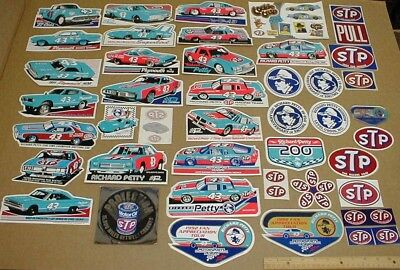 43 dif STP Richard Petty Racing decal stickers Plymouth Superbird Dodge race car