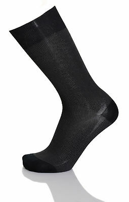 Vannucci Couture Mens Cotton Blend Dress Socks
