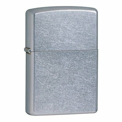 Classic Zippo Brushed Chrome Windproof Lighter - Lifetime Zippo Warranty 1/10