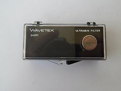 Plessey UK Wavetek Ultramin Band Pass Filter, Type 34280 [3R1C,EC24]
