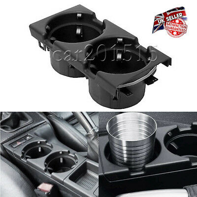 For BMW Front Center Console Drink Holder Black E46 3 Series  51168217953