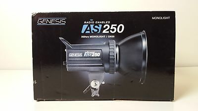 Genesis AS250 Boxed Radio Enabled 250ws Monolight / GN50 Grade A
