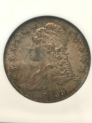 1835 50C Capped Bust Half Dollar NGC MS-64