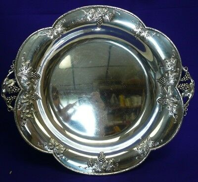 Antique Lebkuecher & Co Sterling Silver Serving Tray
