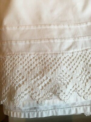 vintage lace petticoat - suitable for ladies or girls