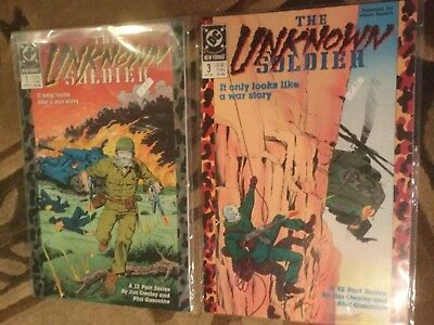 Unknown Soldier, The (Mini-Series) #1 VF/NM; DC 1,3,4-10,12