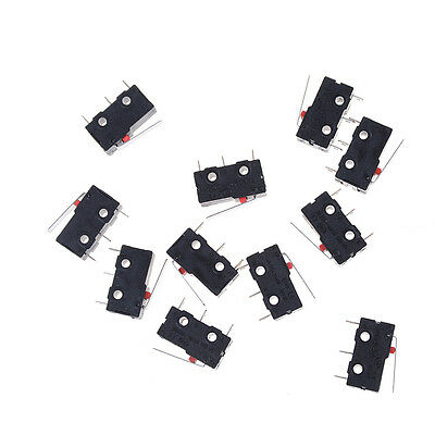 10x Limit Switch 3 Pin N/O N/C 5A 250VAC KW11-3Z Micro Switch Cute ^XB
