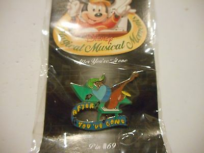 Magical Musical Moments Pin # 69 After You've Gone *****NEW***** Disney Pin