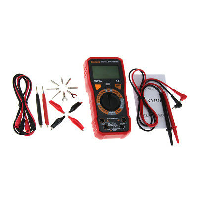 Digital Multimeter AC DC Voltage Current Meter Resistance Capacitance Tester