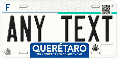 Queretaro Mexico Any Name Number Personalized Novelty Auto Tag License Plate C04