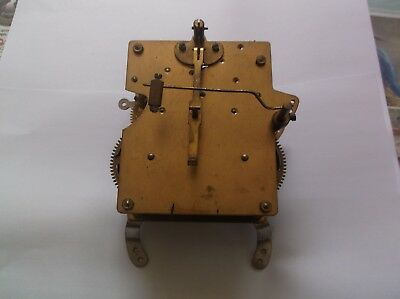 MECHANISM  FROM AN OLD  MANTLE CLOCK working order ref c3