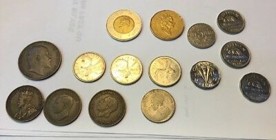 Lot Of Vintage Canada Coins - M99