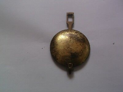 A PENDULUM FROM AN OLD  MANTEL CLOCK REF c3