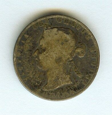 Canada 1900 Silver 50 Cents  Very Good
