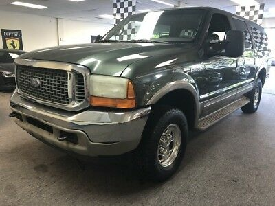2001 Ford Excursion  7.3 diesel free shipping warranty 2 owner clean carfax limited 4x4 cheap finance