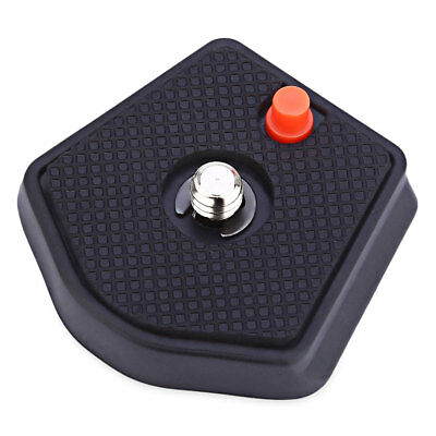 AU_ Camera Quick Release Plate 1/4 Inch for Manfrotto 7321YB MKC3-H01 MKC3-H02 G