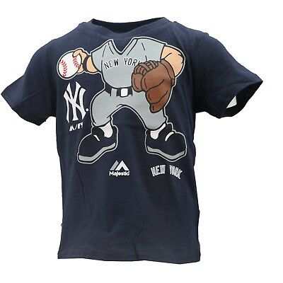 New York Yankees Official MLB Majestic Infant & Toddler Size T-Shirt New Tags