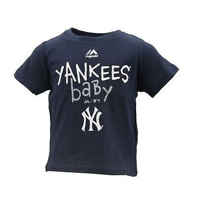 New York Yankees Official MLB Majestic Baseball Majestic Baby Infant T-Shirt New