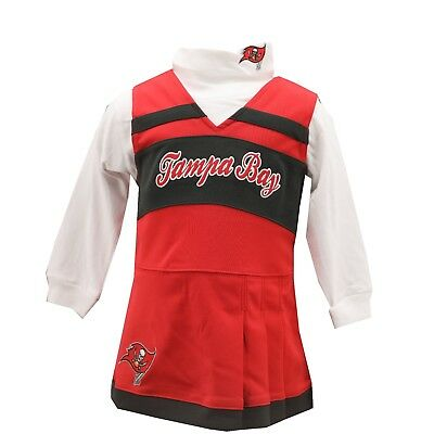 74fc5fae5 Tampa Bay Buccaneers NFL Infant Toddler 2-Piece Cheerleader Outfit New with  Tags