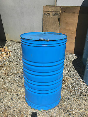 1 X 44 Gallon / 210 Litre Steel Drum (one drum)