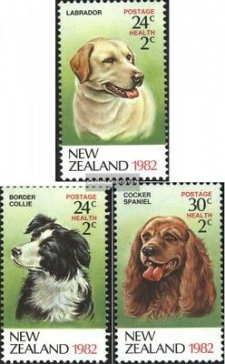 New Zealand 849A-851A (complete.issue.) unmounted mint / never hinged 1982 Dogs