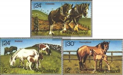 New Zealand 906-908 (complete.issue.) unmounted mint / never hinged 1984 Horses