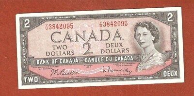 1974 Two Dollar Bank Note (Note has a slight fold) Uncirculated Crisp Note L988