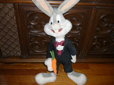 Bugs Bunny Plush Looney Tunes.  Preown