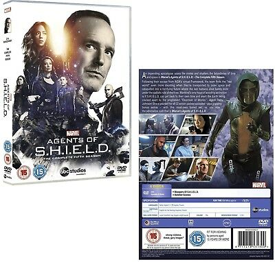MARVEL'S AGENTS OF S.H.I.E.L.D. 5 2017-2018: Shield TV Season -  Rg2 DVD not US