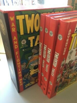 Two-Fisted Tales 4 Volume Set with Slipcase (Jul 1993, Russ Cochran)