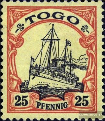 Togo (German. Colony) 11 with hinge 1900 Ship Imperial Yacht Hohenzollern