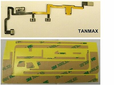 NEW iPad 2 a1395 a1397 GSM Power Vol Switch On Off Control Key Flex Cable 3M