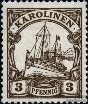 Carolines (German colony) 7 with hinge 1901 Ship Imperial Yacht Hohenzollern
