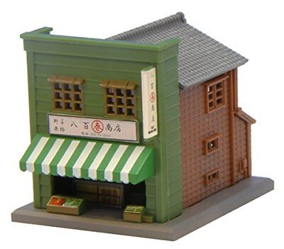 ROKUHAN Z-scale S040-1 Store B - Green 1/220 scale