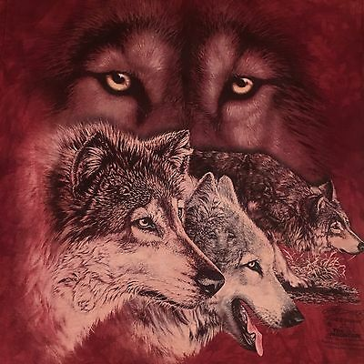 mountain HIDDEN WOLVES t shirt-GARDNER art-WILD SPIRIT WOLF SANCTUARY--NEW--(S)